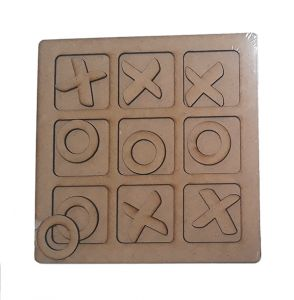 Wooden games and puzzles