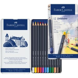 Faber-Castell Цветни моливи Goldfaber