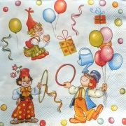 "Napkin for decoupage ""birthday"""