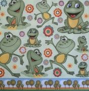 "Napkin for decoupage ""Frogs"""