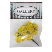Paper flowers kit yellow