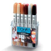 Set de 12 Copic markerilor CG GREY