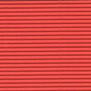 Corrugated cardboard red