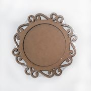 Wooden decoration frame 14.5 cm.