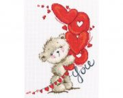"Cross-stitch kit RTO  M70033   ""I love you"""