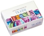 Fabric paint Decola - 12 colors