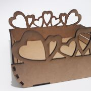 Wooden folding model My love