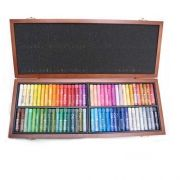 Oil colours MOP72W - 72 colors in wooden box, Mungyo
