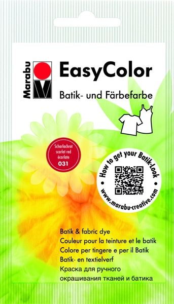 Batik textile paint Easy Color - red