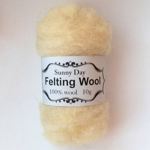 Wool natural colour