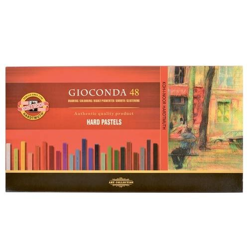Dry pastels Gioconda 48 colours