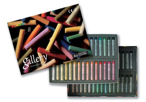 Soft pastels Gallery series - Mungyo, 60 colors