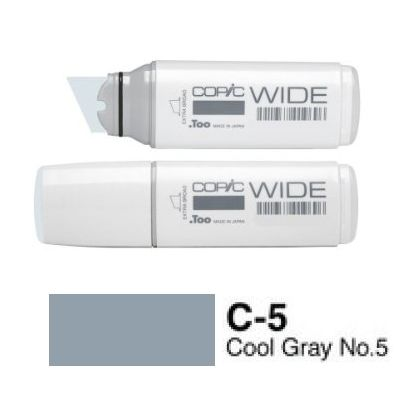 Marker Copic Wide - cool grey C-5
