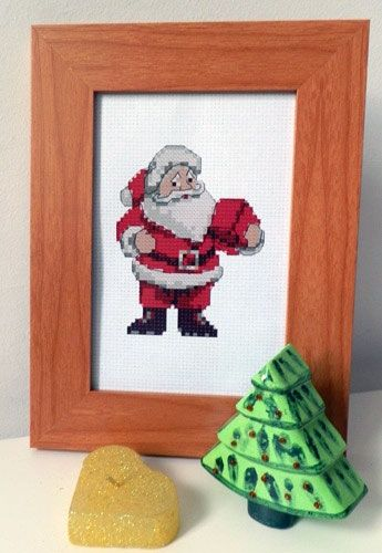 Cross-stitch kit Father Christmas