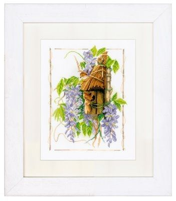 Cross-stitch кит Ланарте PN0021208 Marjolein Bastin Wisteria