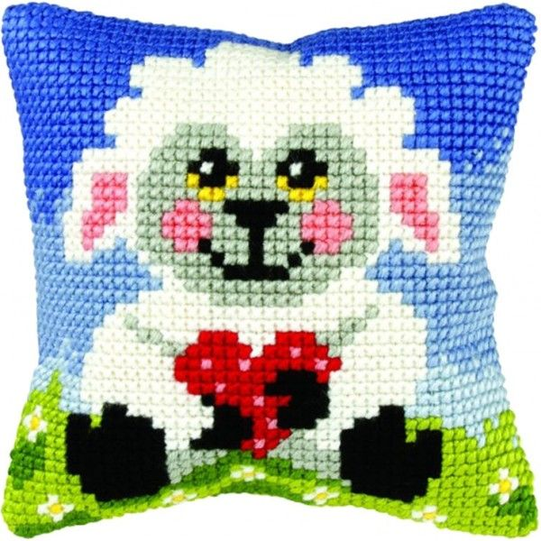 Cross-stitch cushion Orchidea 9401 Owl