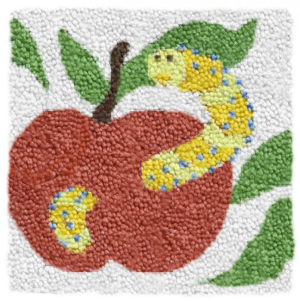 Latch hook embroidery Ravel Apple