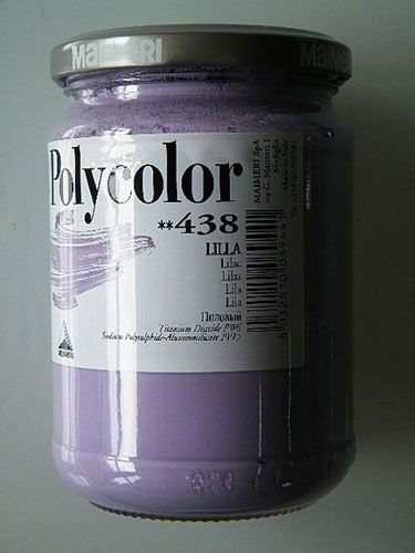 Acrylic paint Maimeri Polycolor Purple 438