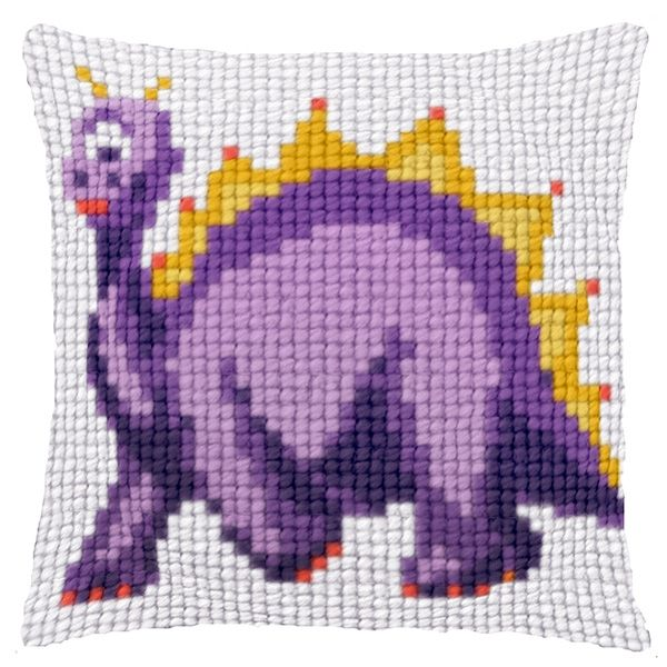 Cross-stitch counted cushion Ravel 30143 Girl