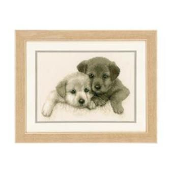 Brother & sister Cross-stitch kit