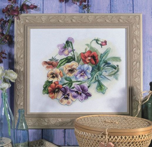 Cross-stitch kit Orchidea 8100 Viola