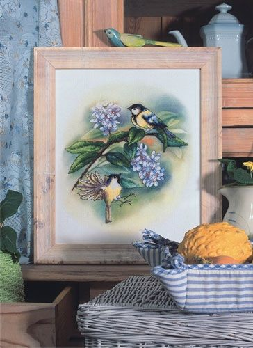 Cross-stitch kit Orchidea 8170 Sparrows