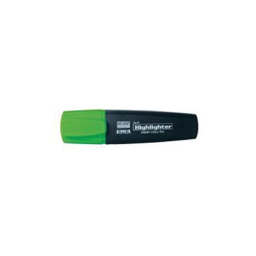 Flat text marker series 45 - green