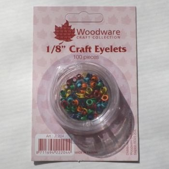 Circle mini eyelets - intensive colors