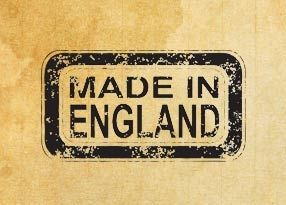 "Печат ""Made in England"" EN"