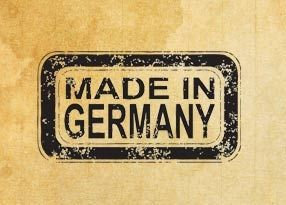 "Rubber stamp ""Made in Germany"" EN"