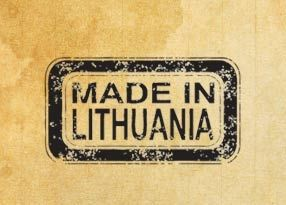 "Печат ""Made in Lithuania"" EN"