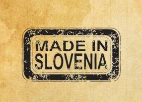 "Rubber stamp ""Made in Slovenia"" EN"