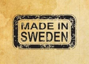 "Rubber stamp ""Made in Sweden"" EN"