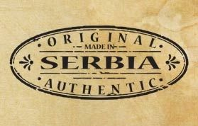"Печат ""Made in Serbia - original"" EN"
