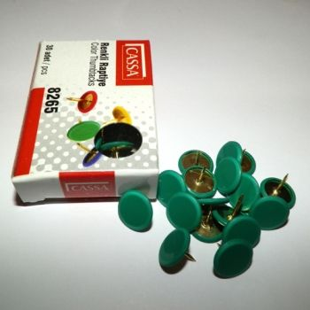 Green Thumbtacks
