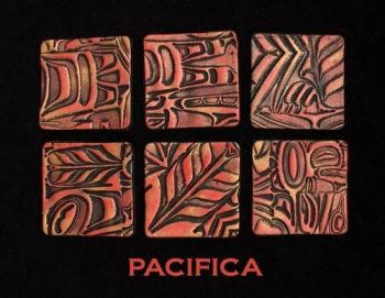 Rubber embossing stamp - Pacifica