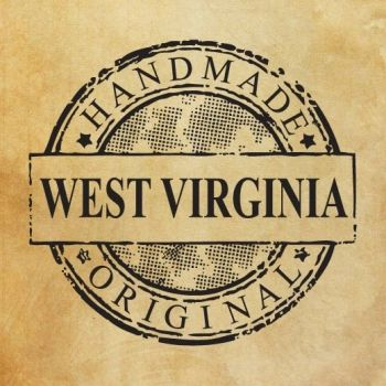 "Печат ""Handmade in West Virginia - original"" EN"