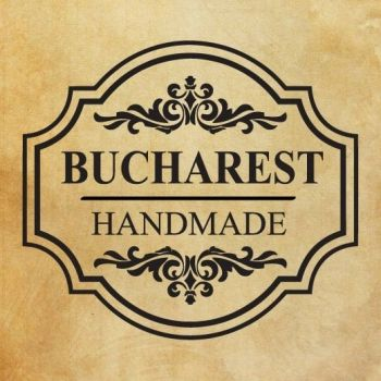"Печат ""Handmade - Bucharest "" EN"