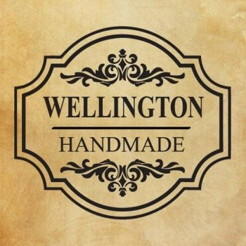"Rubber stamp ""Handmade - Wellington"" EN"