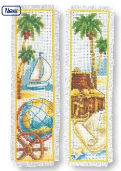 Book separator Sea treasures - 2 pc.