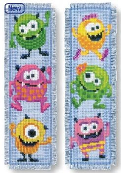 Book separator Monsters - 2 pc.