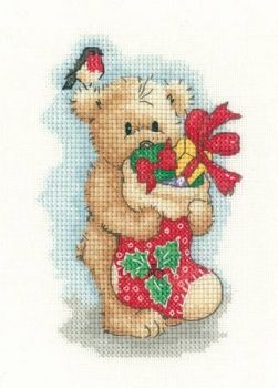 Cross-stitch kit Toffee Christmas