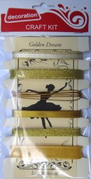 Ribbons Assorted - Golden Dream