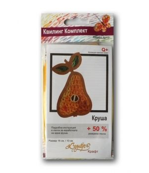 "Quilling kit - ""Pear"""