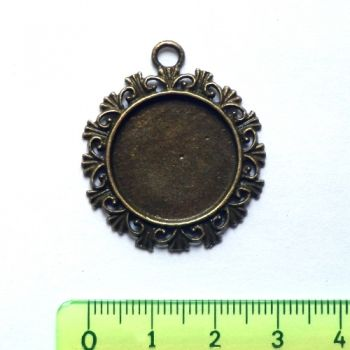 Metal pendant - Photoframe