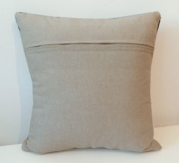 "Cross-stitch counted cushion ""Roma"""