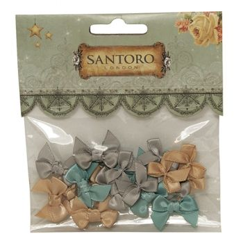Santoro Ribbons for decoration - assorti