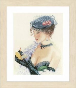"Cross-stitch kit Lanarte PN-0154332 ""Love date"""