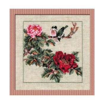 Cross-stitch kit Riolis 484 The chinese Motives. Summer