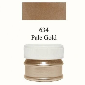 Pigment metallic silver pale gold